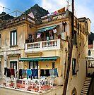 -Washday - Amalfi,  Italy by T.J. Martin