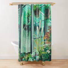Studio Ghibli Plants Shower Curtain
