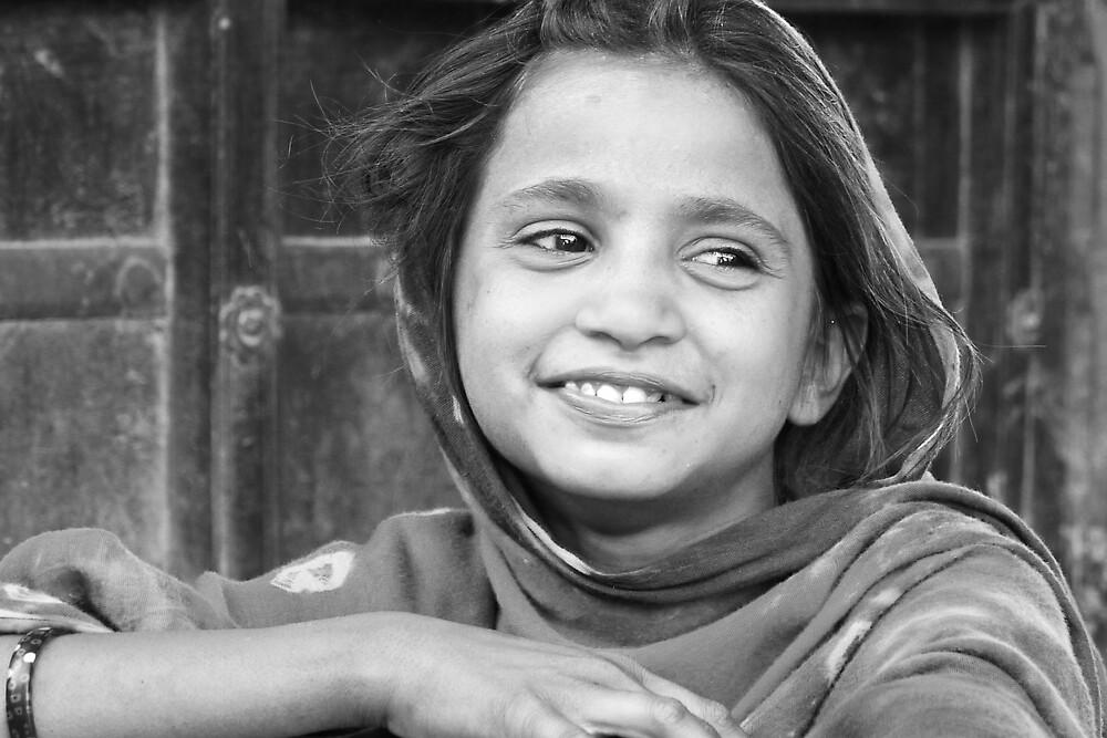 village girl in Rajasthan by handheld-films