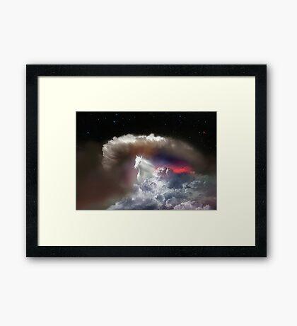 Sky Run Framed Print