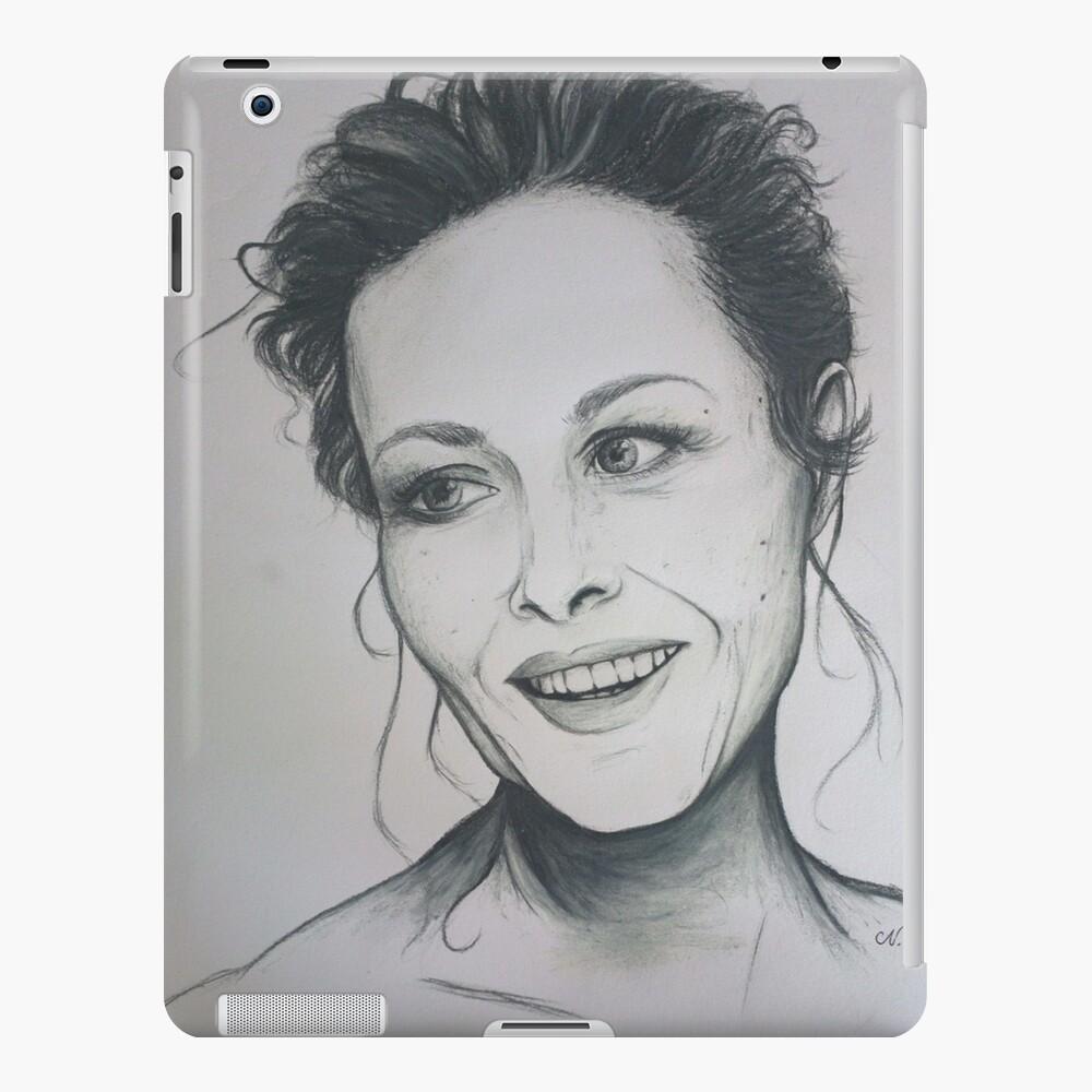 Amanda Mealing Actress amanda mealing sketch   ipad case & skin