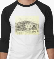 Somewhere in the Shire Men's Baseball ¾ T-Shirt