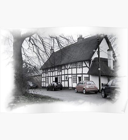 Rustic England: North Kilworth. Poster