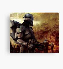 Clone Commando Patrol   Canvas Print