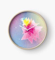 Stars and Hexagons Clock