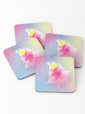 Stars and Hexagons Coasters