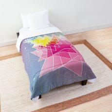 Stars and Hexagons Comforter