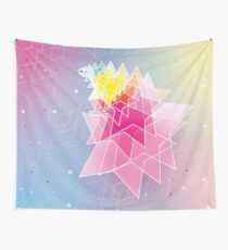 Stars and Hexagons Wall Tapestry