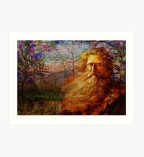 Father Time Blessings Art Print