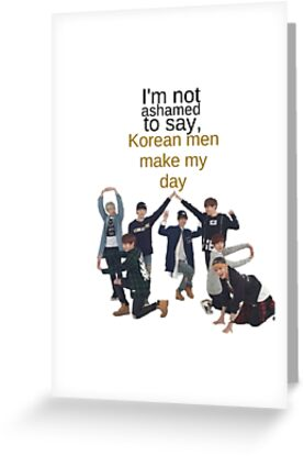 Korean men bts greeting cards by morganm3rry redbubble korean men bts by morganm3rry m4hsunfo Images