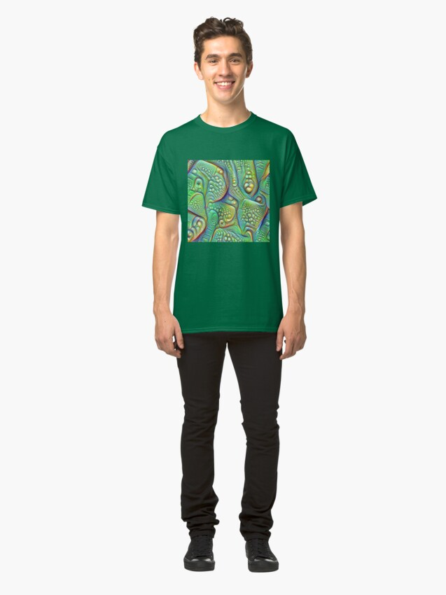 Alternate view of Abstraction #DeepDream Classic T-Shirt