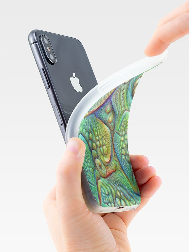 Alternate view of Abstraction #DeepDream iPhone Case & Cover