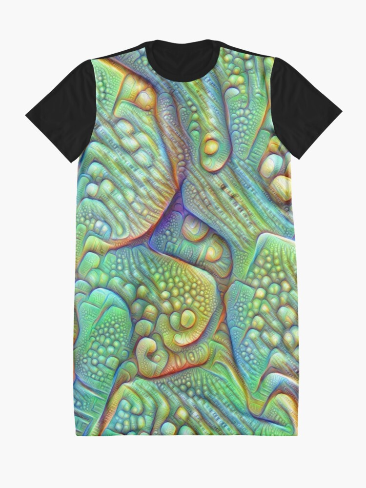 Alternate view of Abstraction #DeepDream Graphic T-Shirt Dress