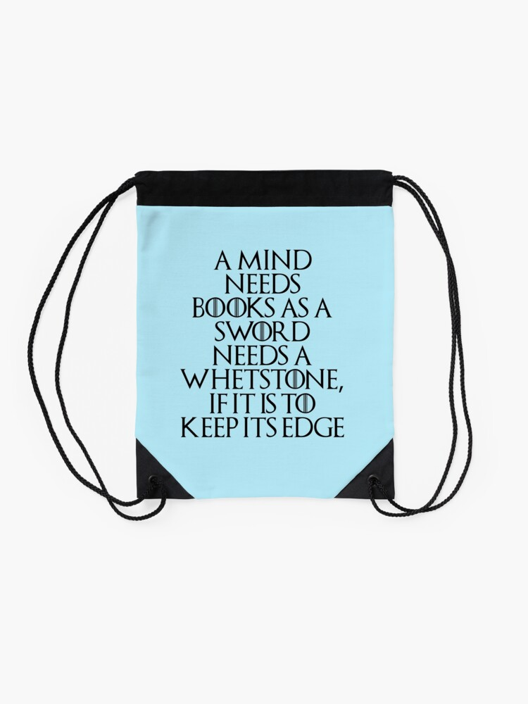 Alternate view of Tyrion Lannister - quote Drawstring Bag