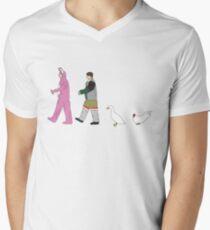 Freunde T-Shirt mit V-Ausschnitt für Männer