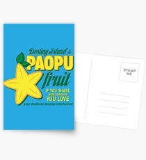 Paopu Fruit - Kingdom Hearts Postcards