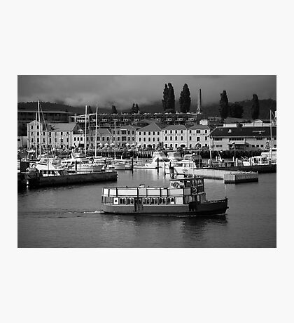 cityscapes #184, ferry Photographic Print