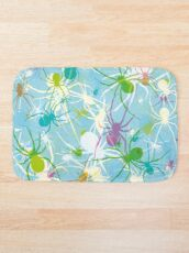 Blue Widow Bath Mat