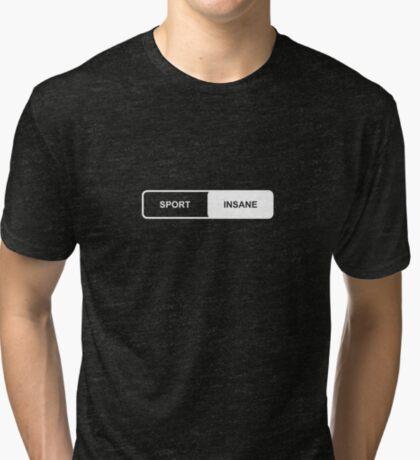 Sport | Insane - Tesla Tri-blend T-Shirt