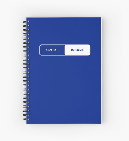 Sport | Insane - Tesla Spiral Notebook