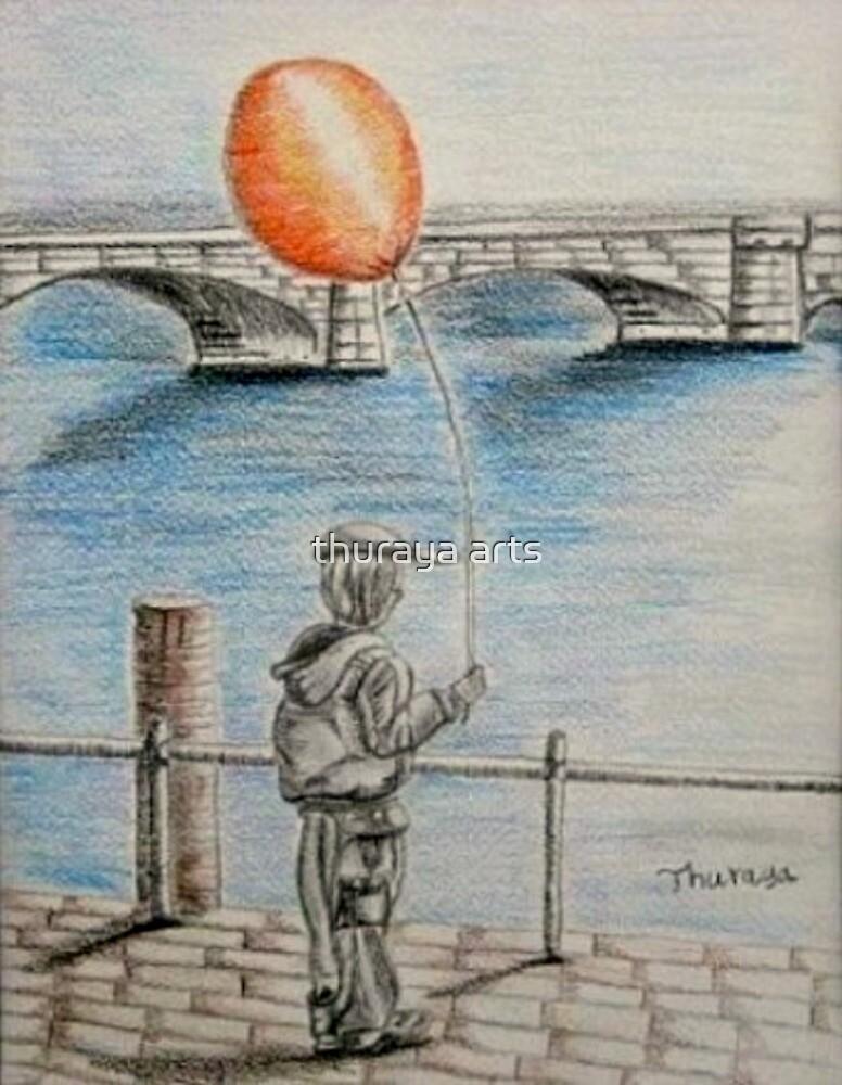 balloon boy by thuraya arts