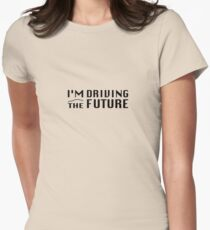 I'm Driving The Future - Model S Women's Fitted T-Shirt