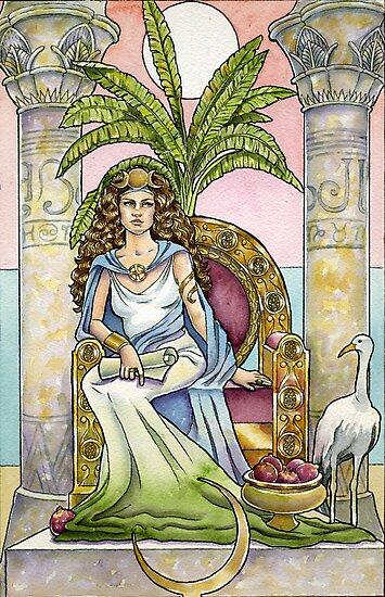 The High Priestess by WinonaCookie
