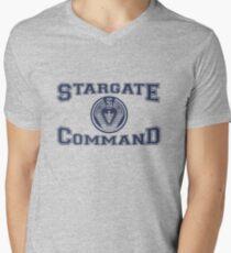 Stargate Command Athletics Men's V-Neck T-Shirt
