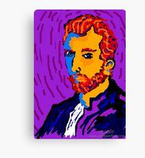 Portrait Of Vincent Canvas Print
