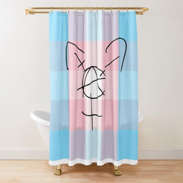 Tranarchy Plaid Shower Curtain