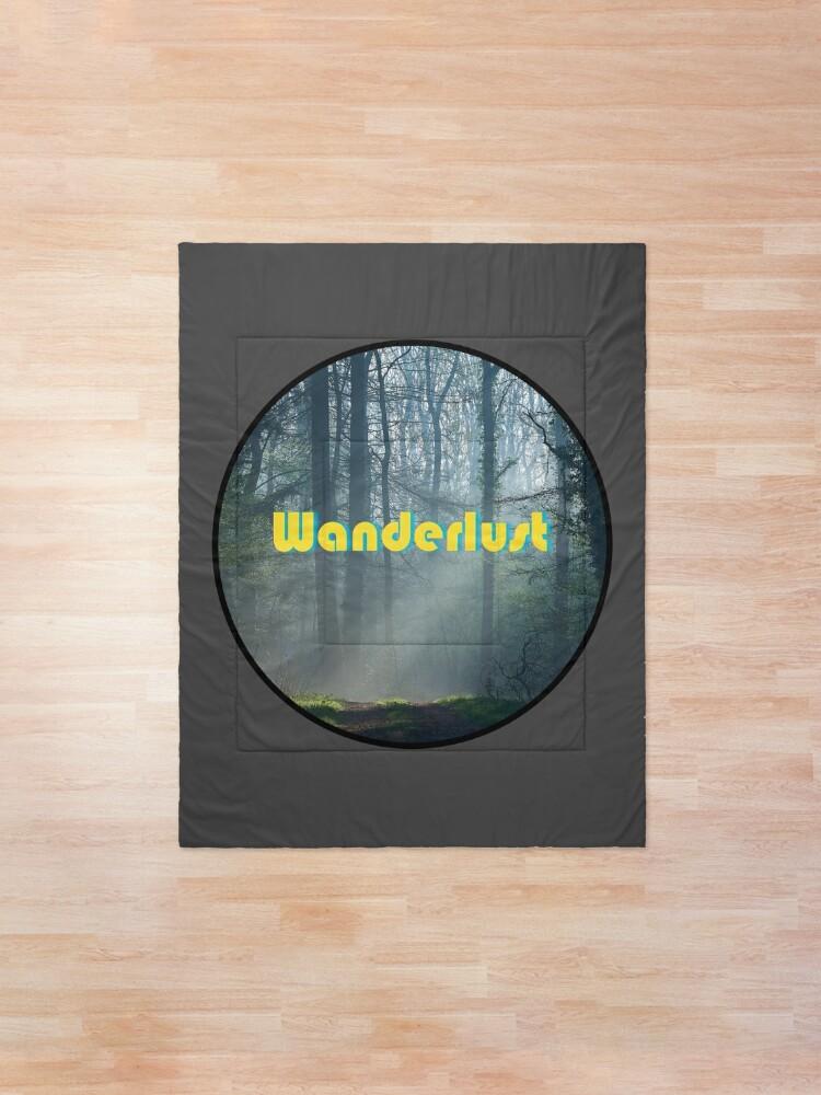 Alternate view of Wanderlust Comforter