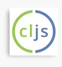 Clojure Script Logo Canvas Print