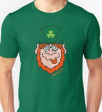 St Paddy's Day Mad Leprechaun Unisex T-Shirt
