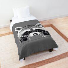 Little raccoon buddy Comforter