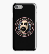 Captain Spaulding for President iPhone Case/Skin