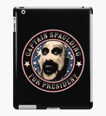 Captain Spaulding for President iPad Case/Skin