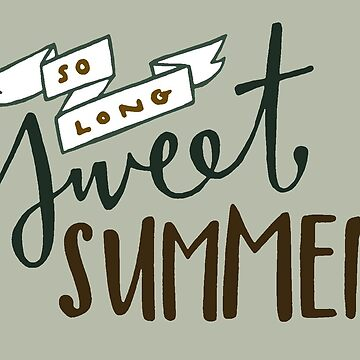 Tan largo, dulce verano de spiropaperco
