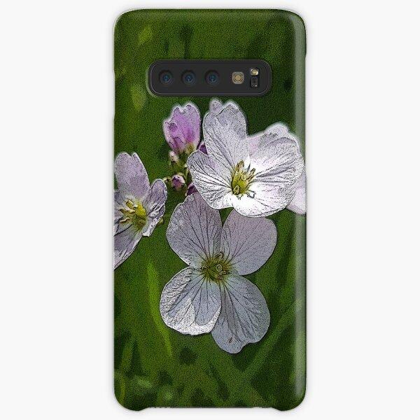 Posterized Cuckoo Flower Samsung Galaxy Snap Case