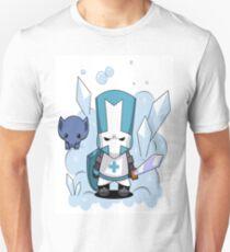castle crashers blue knight T-Shirt