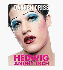 Darren Criss - Hedwig Poster Photographic Print