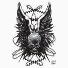 Skulls n wings. by Mikekevan