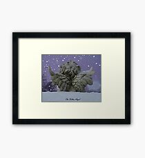 The fallen angel. Framed Print