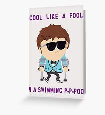 Jimmy is cool Greeting Card