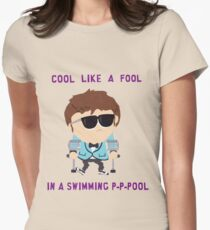 Jimmy is cool Womens Fitted T-Shirt