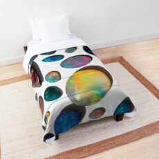 Australian Black, dark and Boulder Opals Comforter