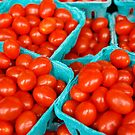 Little Red Tomatoes - Pike Place Market by moessnert