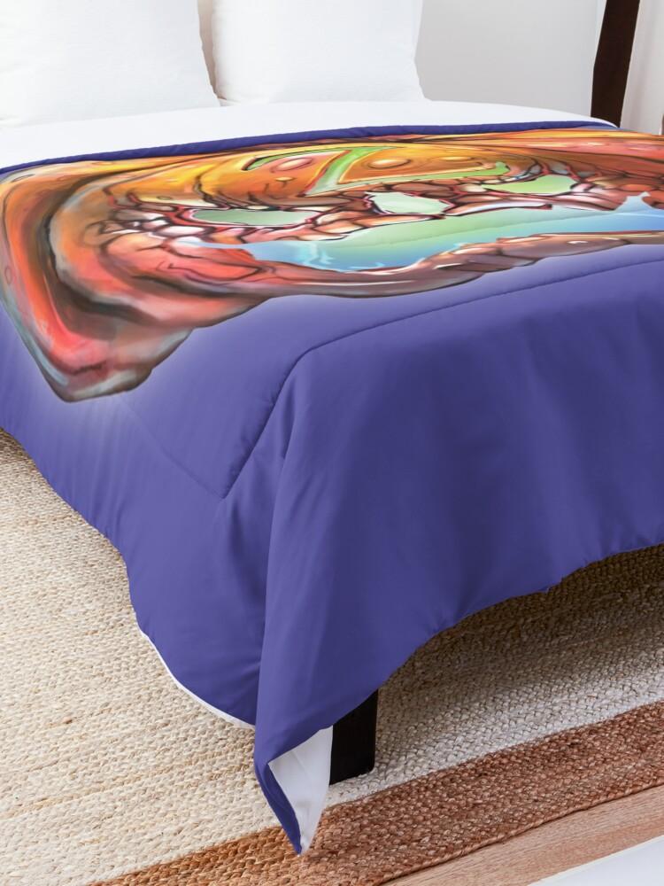 Alternate view of Zorro Pumpkin Comforter