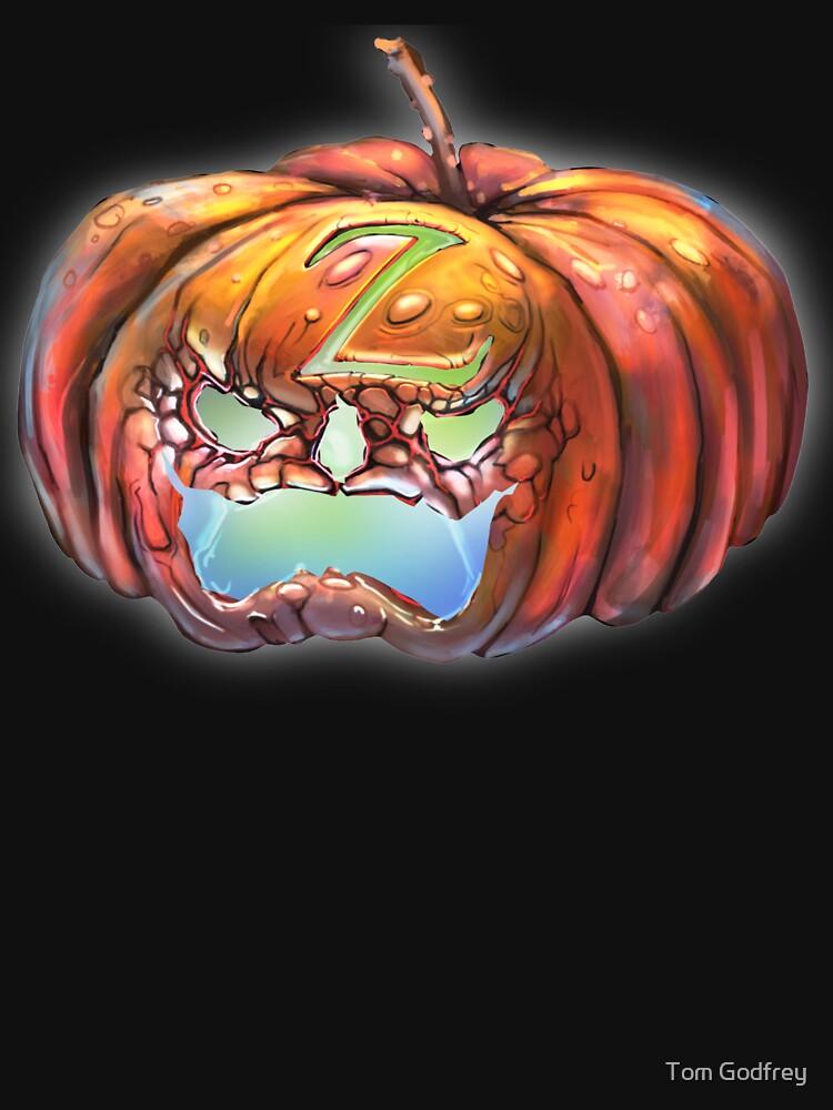 Zorro Pumpkin by Lefrog