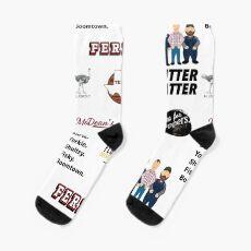 Ultimate Letterkenny Sticker Pack und Sock Bonanza Socken