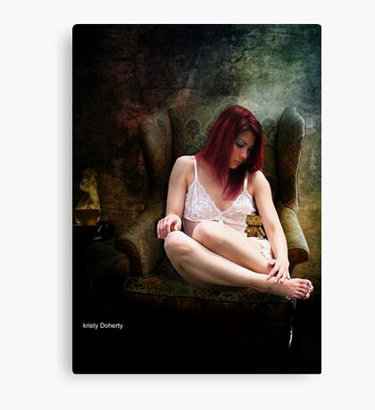 A quiet night in Canvas Print
